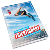 Kiteboarding TRICTIONARY Twintip supreme edition