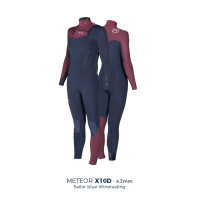 MANERA  X10D Women Full Wetsuit Series 4/3